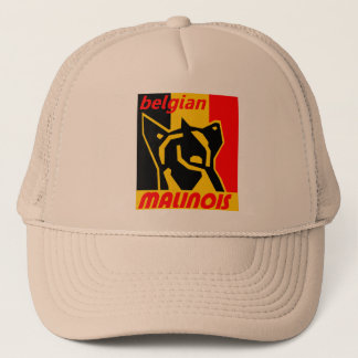 begian-malinois 1 trucker hat