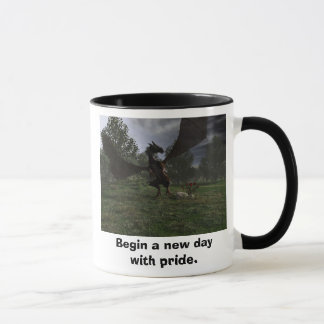 Begin a new day with pride. mug