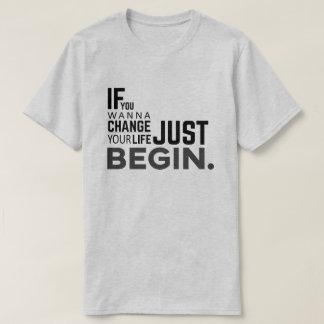 BEGIN.-Motiavtion t-shirt