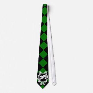 Begird Ebony (Green) Tie