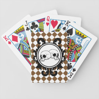 Begird Ivory (Brown) Playing Cards