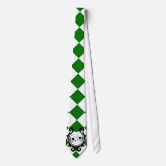 Begird Ivory (Green) Tie