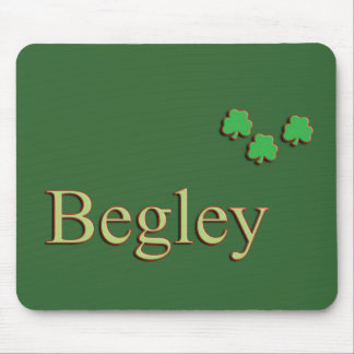 Begley Family Name Mouse Pad