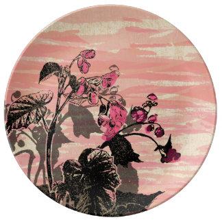 Begonia Plate