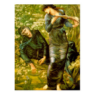Beguiling of Merlin - Edward Burne-Jones Postcard