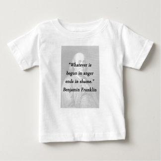 Begun In Anger - Benjamin Franklin Baby T-Shirt