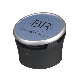 Behave Rich speakers Bluetooth Speaker