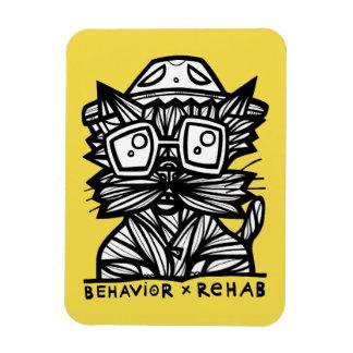 """Behavior Rehab"" 3""x4"" Magnet"