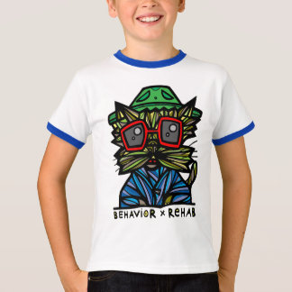 """""""Behavior Rehab"""" Boys Ringer Shirt"""