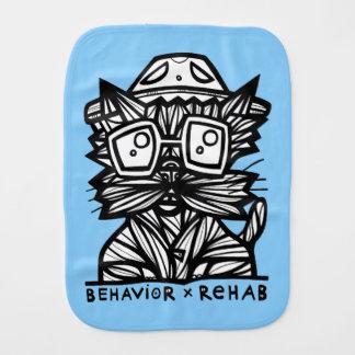 """""""Behavior Rehab"""" Burp Cloth"""