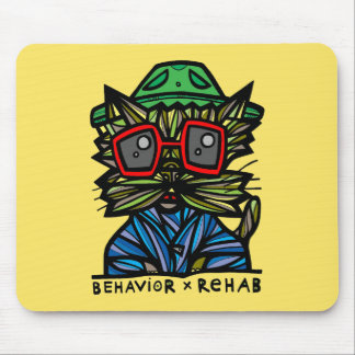 """Behavior Rehab"" Mousepad"