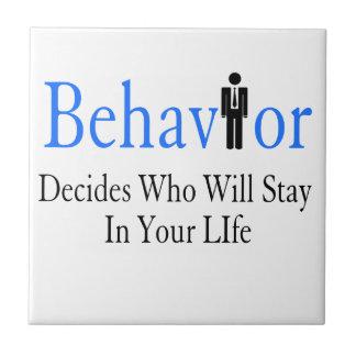 Behavior Tile