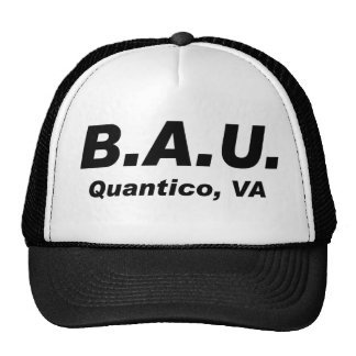Behavioral Analysis Unit Trucker Hat