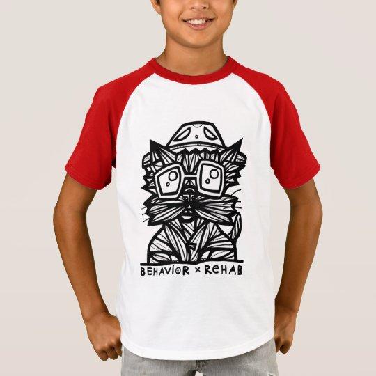 """""""Behaviour Rehab"""" Boys' Short Sleeve Raglan T-Shirt"""
