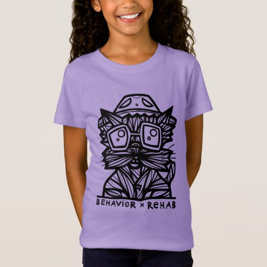 """Behaviour Rehab"" Girls' T-Shirt"