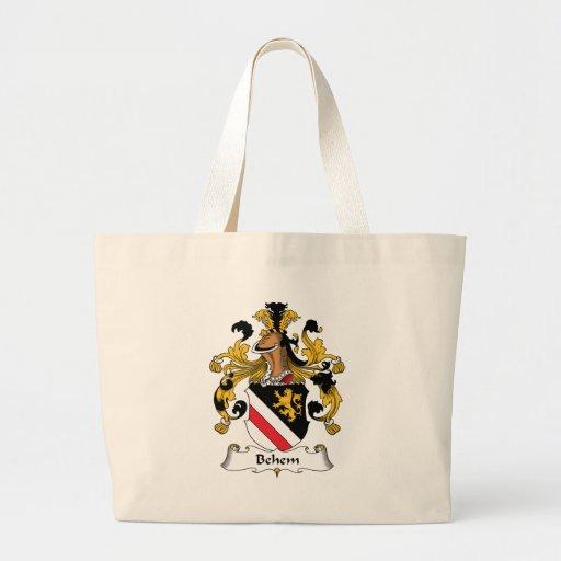 Behem Family Crest Bags