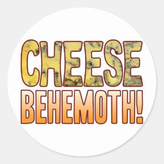 Behemoth Blue Cheese Round Sticker