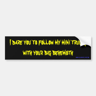 behemoth bumper sticker