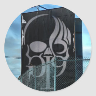 Behind a Fence Sticker
