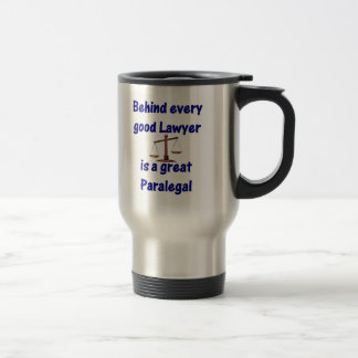 Behind Every Lawyer - Paralegal Mug