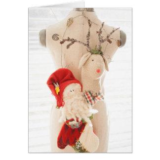 Behind Every Santa is a Faithful Mom card