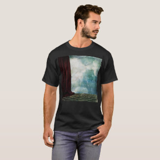 """Behind the Curtain"" Strange T-Shirt"