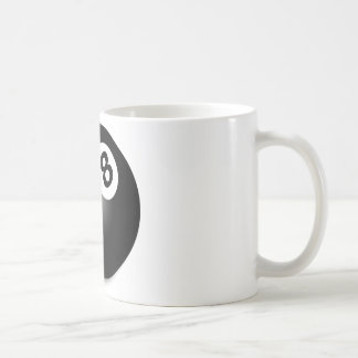 Behind The Eight Ball! Coffee Mug
