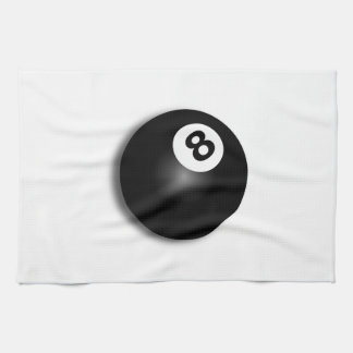 Behind The Eight Ball! Kitchen Towel