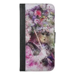 Behind the Mask iPhone 6/6s Plus Wallet Case