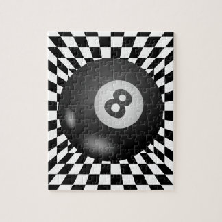 Behind the Mystical Eight Ball Jigsaw Puzzle