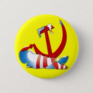 Behind The Obama Logo 2 Inch Round Button