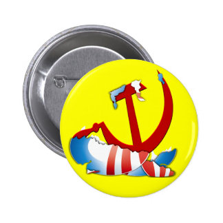 Behind The Obama Logo 2 Inch Round Button