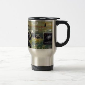 Behind the scenes-Morning broadcast-Custom Print! Travel Mug