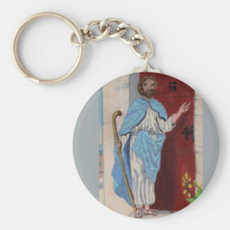 """""""BEHOLD, I STAND AT THE DOOR AND KNOCK"""" keychain"""