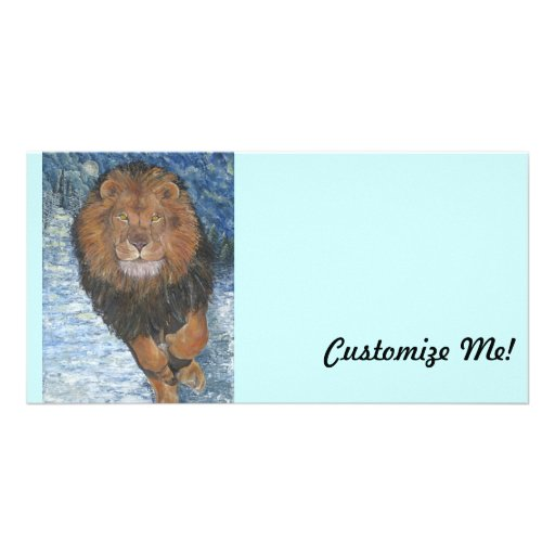 *Behold the Lion* by Joy Leiko Photo Greeting Card