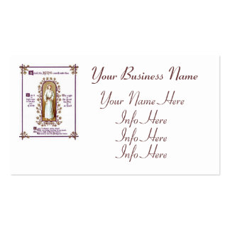 Behold Thy King Business Card Template