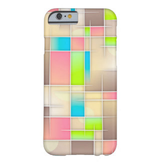 Beige abstract Art Case Barely There iPhone 6 Case