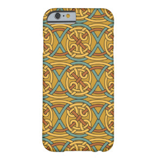 Beige and Blue Barely There iPhone 6 Case