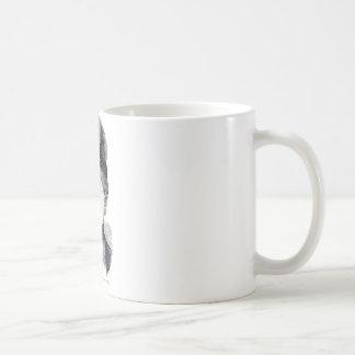 """""""Beige"""" Basic White Mug"""