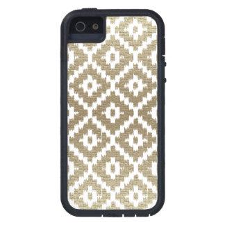 Beige Brick Aztec Tribal Print Ikat Diamond Pattrn Case For The iPhone 5