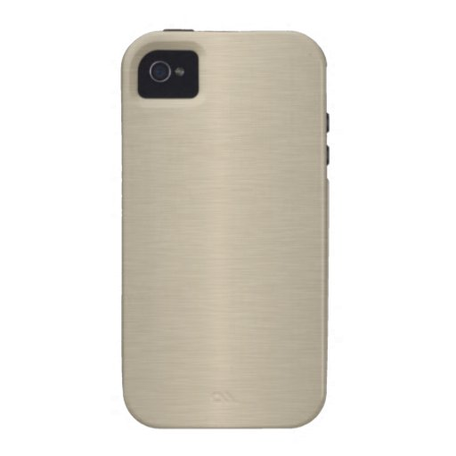Beige Vibe iPhone 4 Covers