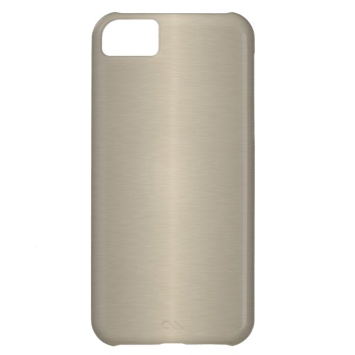 Beige Cover For iPhone 5C