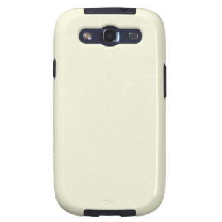 Beige-Cream-And-White-Polka-Dots Samsung Galaxy S3 Covers