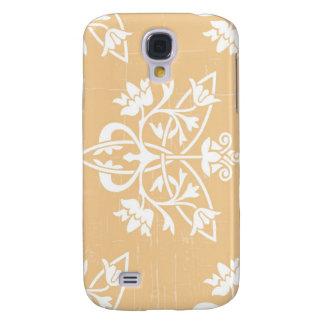 Beige Deco Galaxy S4 Case