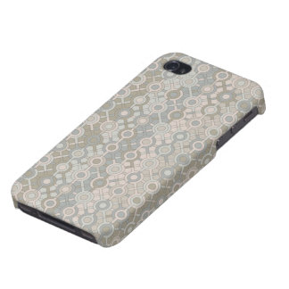 Beige Dots iPhone 4/4S Covers