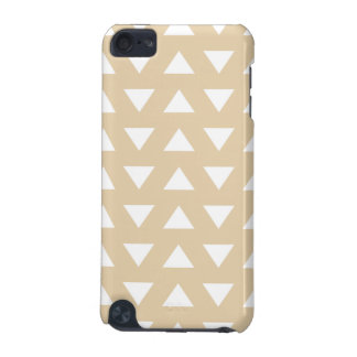 Beige Geometric Pattern with Triangles. iPod Touch 5G Case
