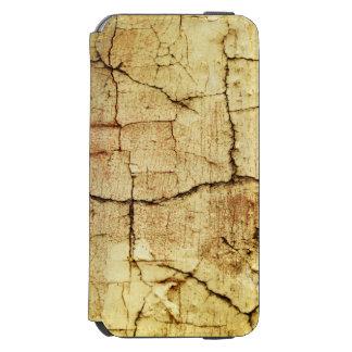 Beige Grunge-Style Case Incipio Watson™ iPhone 6 Wallet Case