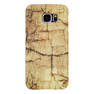 Beige Grunge-Style Case Samsung Galaxy S6 Cases