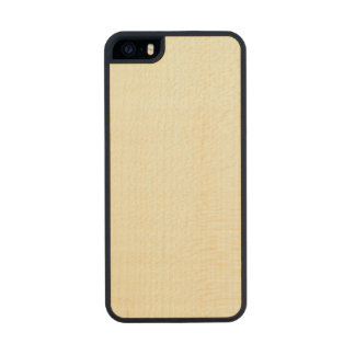 Beige High End Colored Carved® Maple iPhone 5 Case