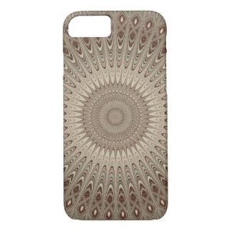 Beige mandala iPhone 7 case
